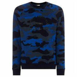 Karl Lagerfeld Camo Sweatshirt