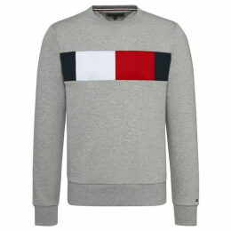 Tommy Hilfiger Chest Flag Logo Sweatshirt