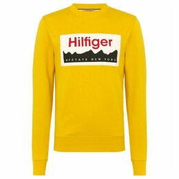 Tommy Hilfiger Hilfiger Graphic Print Sweatshirt