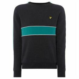 Lyle and Scott Colour Block Sweatshirt