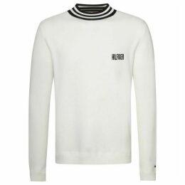 Tommy Hilfiger Stripe Neck Sweatshirt