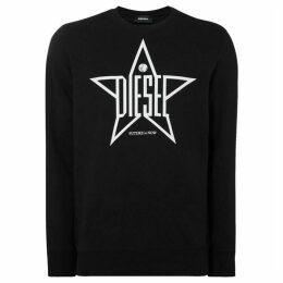 Diesel Star Logo Sweatshirt