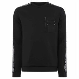 Michael Kors Chest Pocket Scuba Sweatshirt