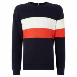 Jack and Jones Colour Block Sweatshirt