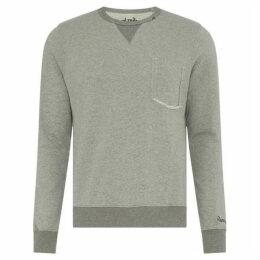 Replay Ribbed Cotton Sweatshirt