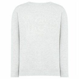 Lee Outline logo crew neck sweatshirt