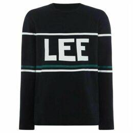 Lee 90`S Logo Crew Neck Sweatshirt