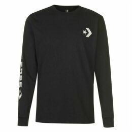 Converse Wordmark Long Sleeve T Shirt