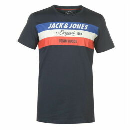 Jack and Jones Jack Shake T Shirt Mens