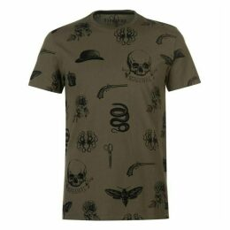 Firetrap All Over Printed T Shirt