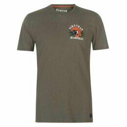 Firetrap Blackseal Panther T Shirt