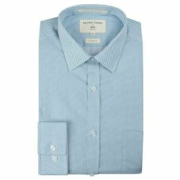 Racing Green Teal Spot Shirt