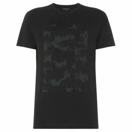 Label Lab Camo Placement Print Tee