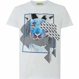 Versace Jeans Graphic Foil Tiger T-Shirt