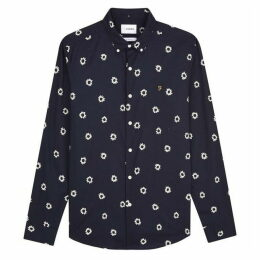 Farah Long Sleeve Print Shirt