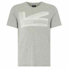Barbour International Short Sleeved Brit Tee