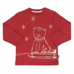 Kite Toddler Snowy Bear T-Shirt