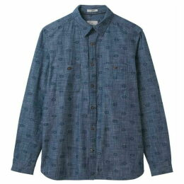 White Stuff Gila Chambray Print Shirt