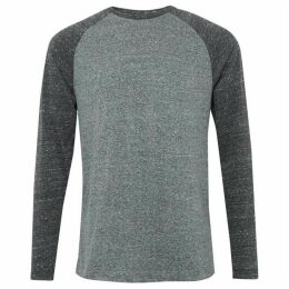 French Connection Contrast Triblend Jersey T-Shirt