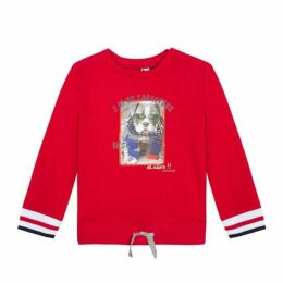 3 Pommes Baby Boy Red Sweat Shirt