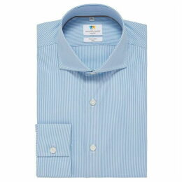 Richard James Bengal Stripe Slim Fit Shirt