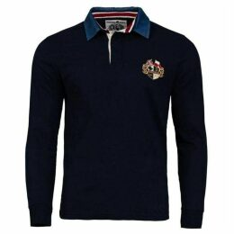 Raging Bull Crest Embroidered Rugby