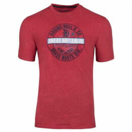 Raging Bull Big And Tall Better Than Football Applique Tee