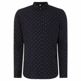 Linea Halifax Triangle Geo Print Shirt