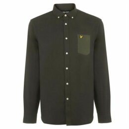 Lyle and Scott Winter Weight Contrast Pocket Shirt
