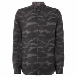 Label Lab Ewing Animal Print Shirt