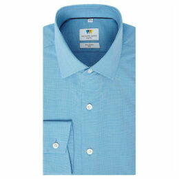 Richard James Pupptooth Slim Fit Shirt