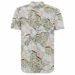 Boss Cattitude 1 Short Sleeve Floral Print Shirt