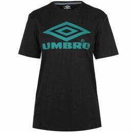 Umbro Logo Boyfriend T Shirt