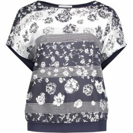 Betty Barclay Graphic Floral Print T-Shirt