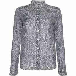 Gant Long Sleeve Light Weight Confetti Print Shirt