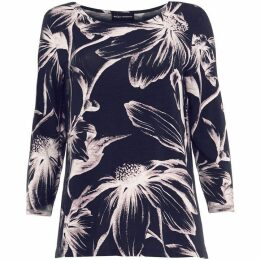 Phase Eight Etched Daisy Top