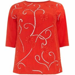 Studio 8 Karlie Embroidered Top