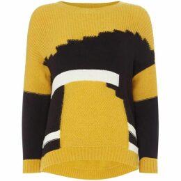 Marella Ribelle multi printed sweater