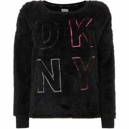 DKNY Furry lounge top