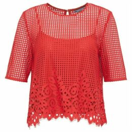 Tommy Hilfiger Helena Laser Cut Top
