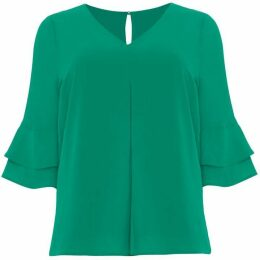 Studio 8 Kelly Fluted Sleeve Top
