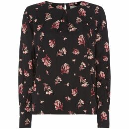 People Tree Bouquet Print Valentina Top