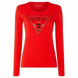 Guess Triangle Top