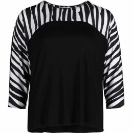 Betty Barclay Zebra Stripe Top