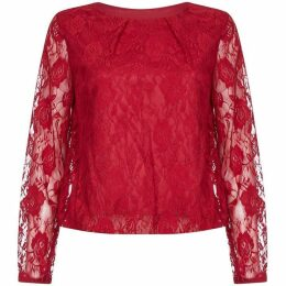 Mela Rose Lace Top