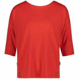 Betty Barclay Button Trim Top
