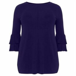 Studio 8 Alexandra Frill Sleeve Knit Top