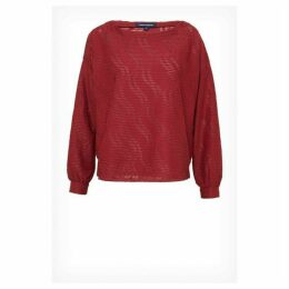 French Connection Tiarella Texture Jersey Top