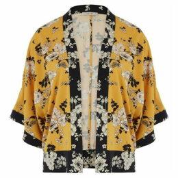 Oasis Curve Scarf Kimono Jacket*