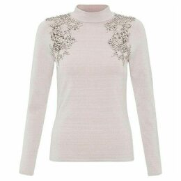 Coast Tilda Embellished Knit Top